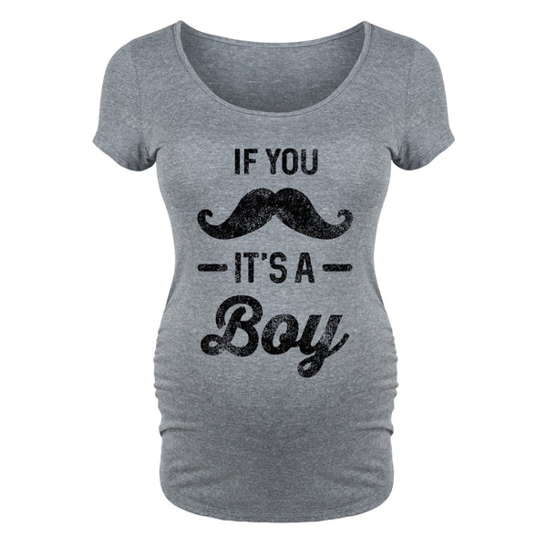 If You Mustache, It's A Boy