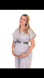 Stork Delivery Labor Gown