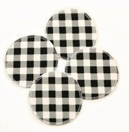 Gingham Breast Pads