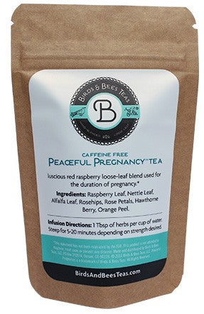 Peaceful Pregnancy Tea-Sample Bag