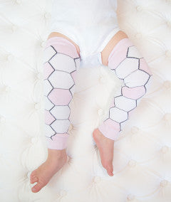 Pink Soccer Baby Leggings
