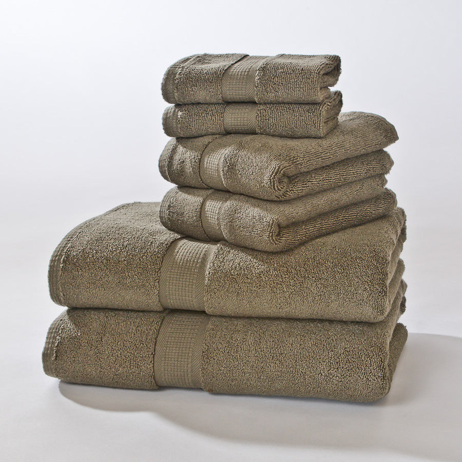 6 PIECE TOWEL SET: Grower's Collection