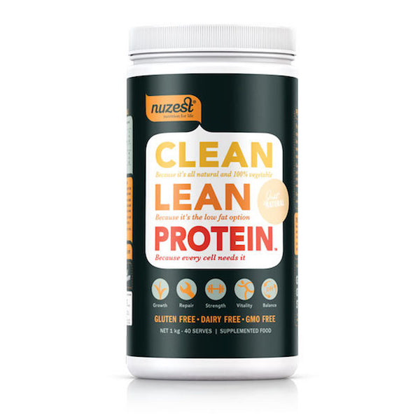 Nuzest Clean Lean Protein – Natural - Urban Herbalist