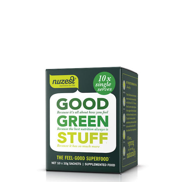 Nuzest Good Green Stuff Sachets 10x15g - Urban Herbalist