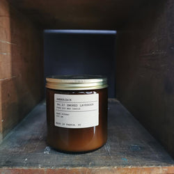 Amberjack Smoked Lavender - Large Soy Candle