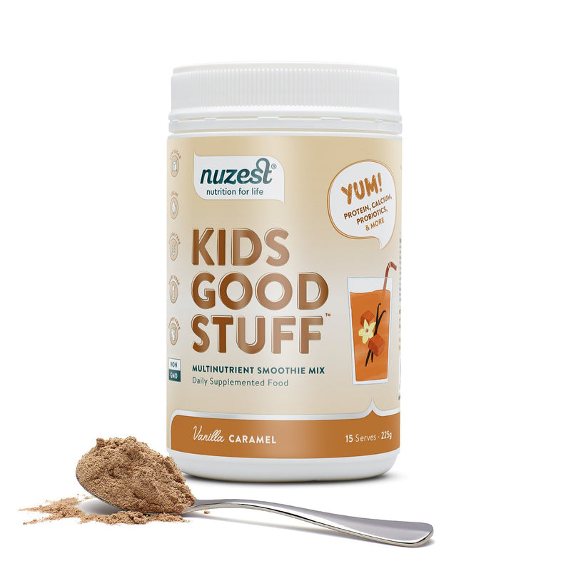 Nuzest Kids Good Stuff - Vanilla Caramel 225g