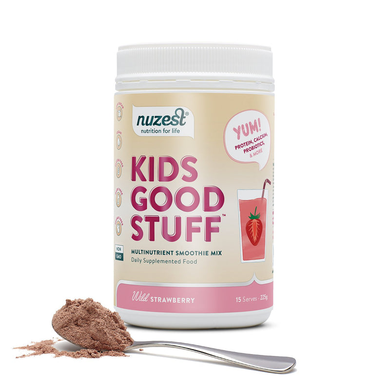 Nuzest Kids Good Stuff - Wild Strawberry 225g