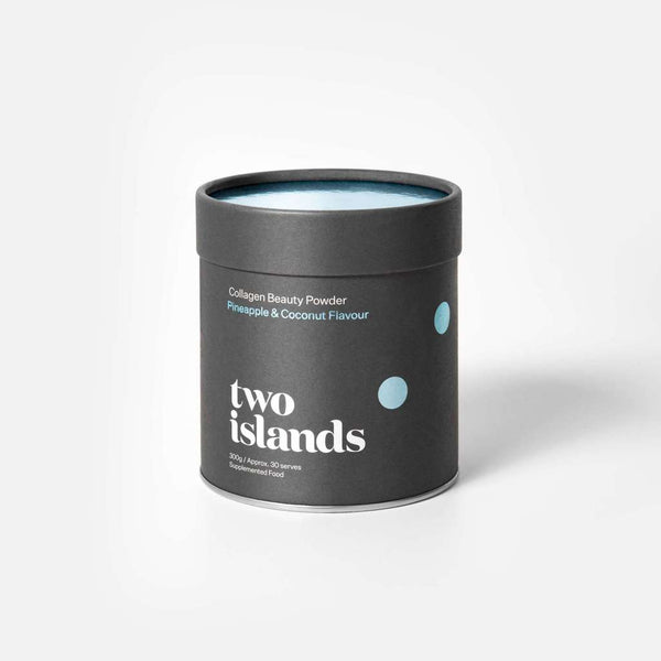 Two Islands Marine Collagen Pineapple & Coconut 300g