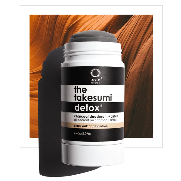 Takesumi Detox | Charcoal Deodorant | Black Oak and Bourbon