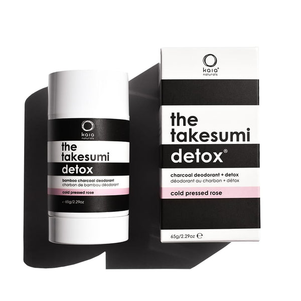 Takesumi Detox | Charcoal Deodorant | Cold Pressed Rose