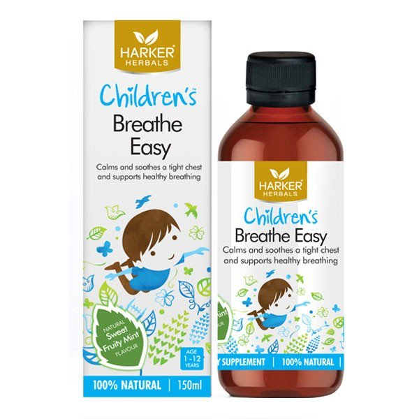 Harker Herbals Children's Breath Easy 150ml - Urban Herbalist