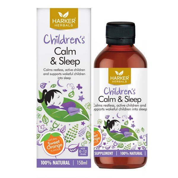 Harker Herbals Children's Calm and Sleep 150ml - Urban Herbalist
