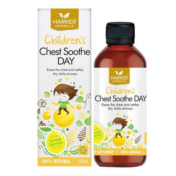 Harker Herbals Children's Chest Soothe Day 150ml - Urban Herbalist