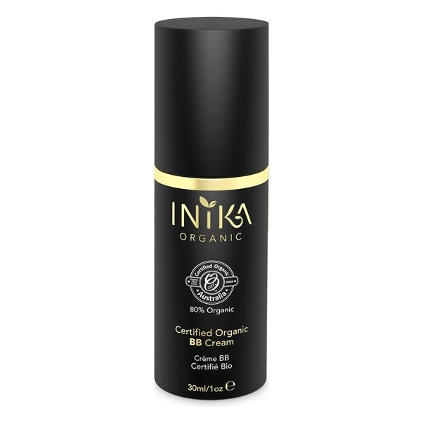 Inika Certified Organic BB Cream - Porcelain 30ml - Urban Herbalist