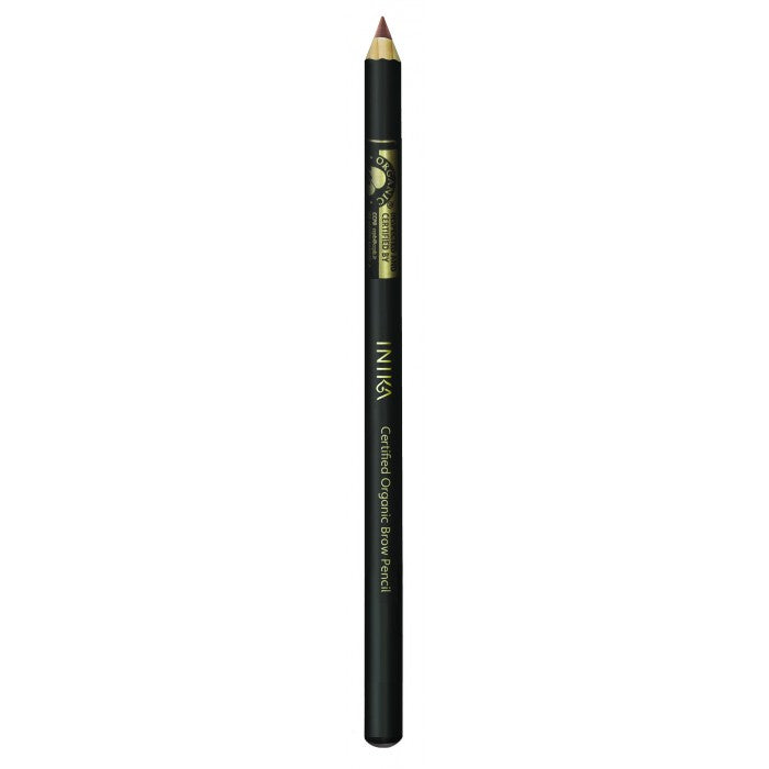 Inika Certified Organic Brow Pencil - Dark Brunette 1.2g - Urban Herbalist