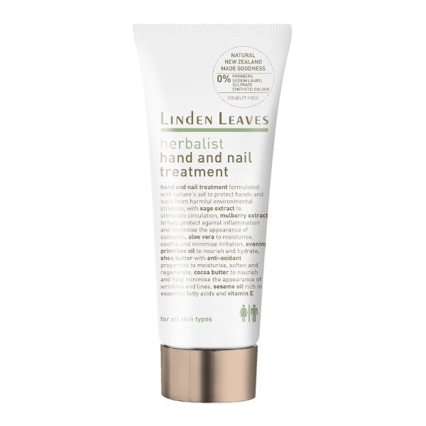 Linden Leaves Herbalist Hand And Nail Treatment 100ml - Urban Herbalist