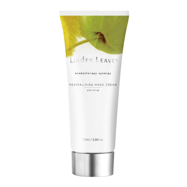 Linden Leaves Aromatherapy Synergy Pick Me Up Hand Cream 100ml - Urban Herbalist
