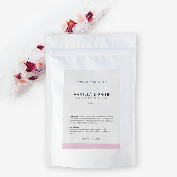 The Skin Kitchen Vanilla & Rose Detox Bath Salts