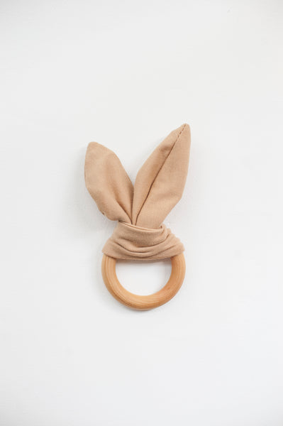 crinkle bunny ears teether