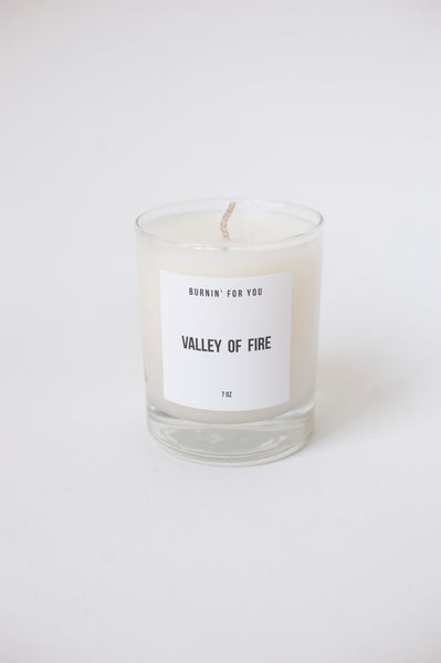 valley of fire candle