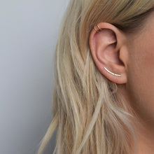 Textured 9ct Gold Ear Climber