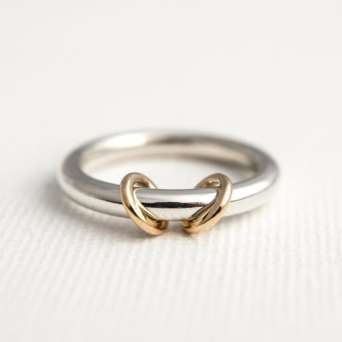 Hoop Spinner Ring