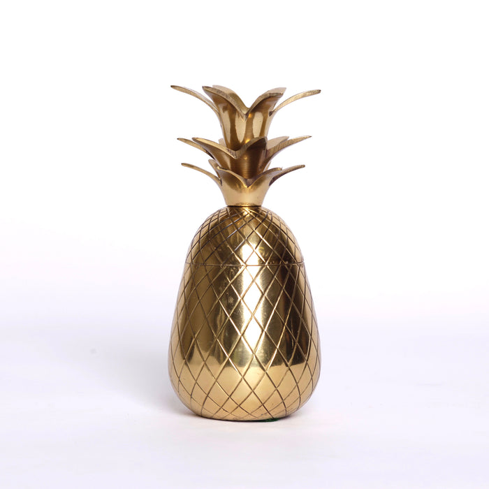 Decorative Brass Pineapple Box (small)