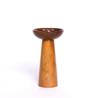Wooden Danish Candle Holder