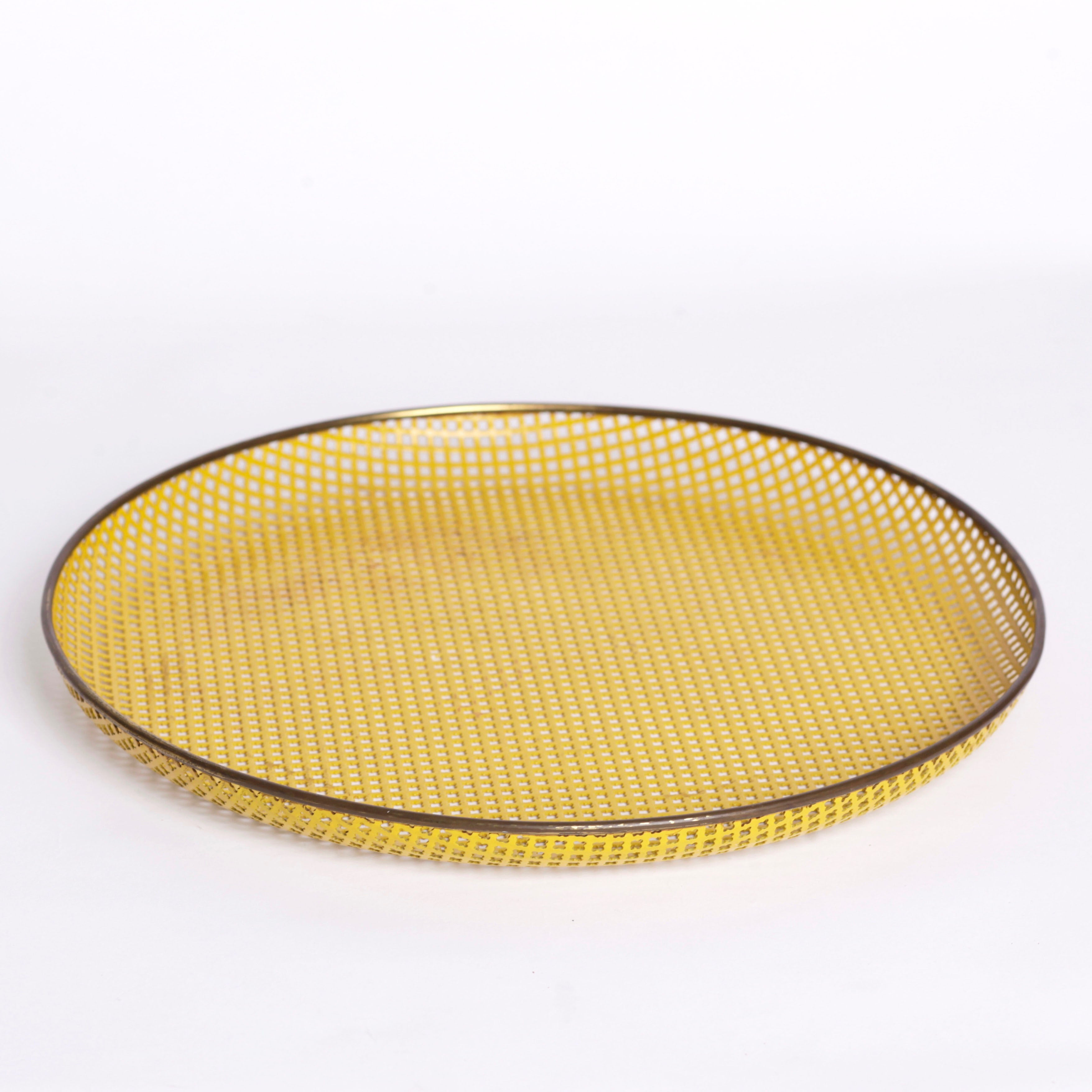 Mategot Yellow Tray