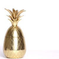 Decorative Brass Pineapple Box (medium)