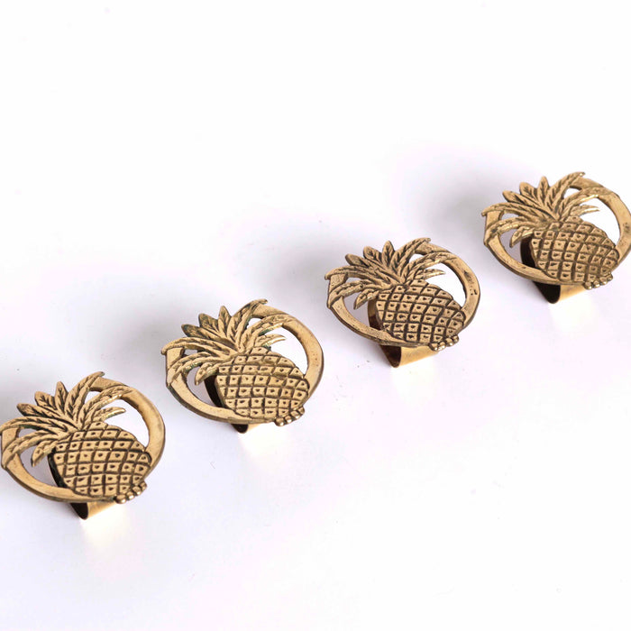 Pineapple Napkin Rings (4)