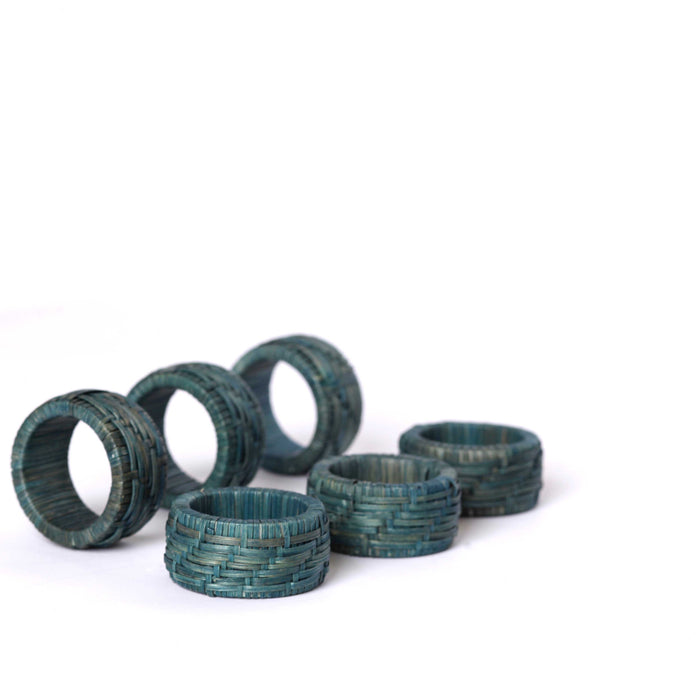 Wicker Napkin Rings (6)