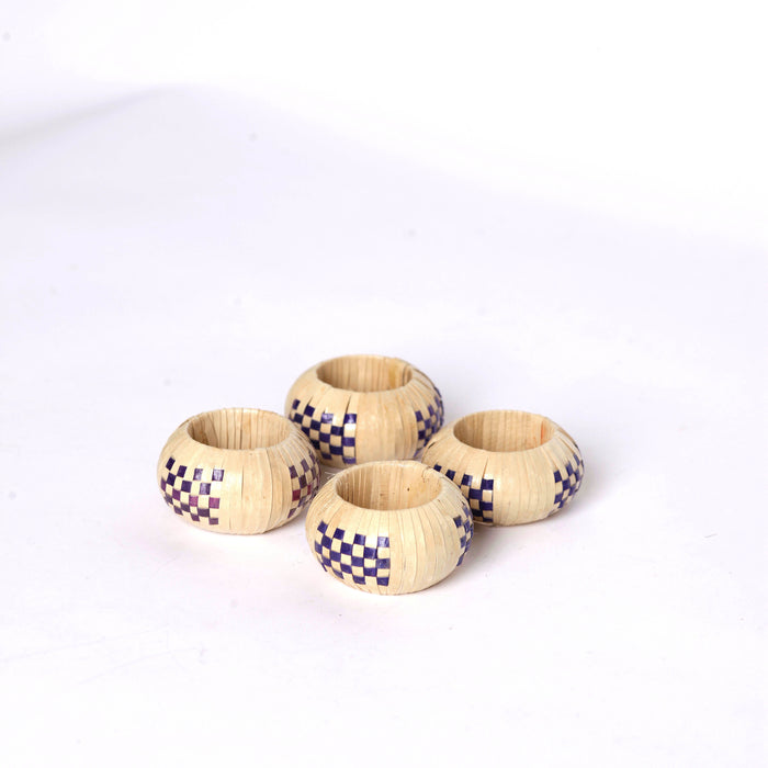 Wicker Napkin Rings (4)