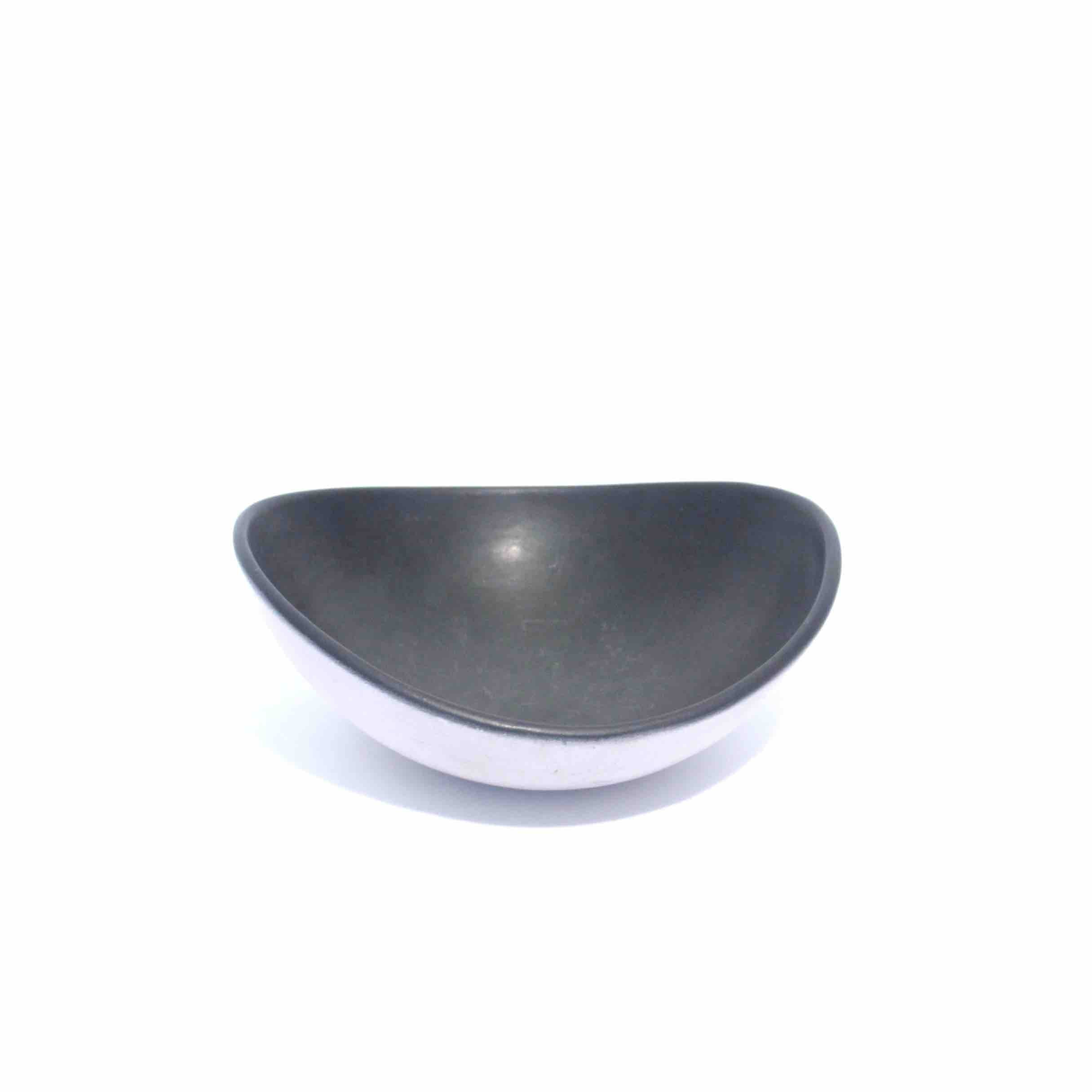 Ceramic White and Black Bowl