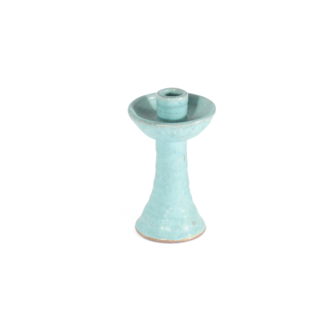 Mexican Turquoise Candle Holder
