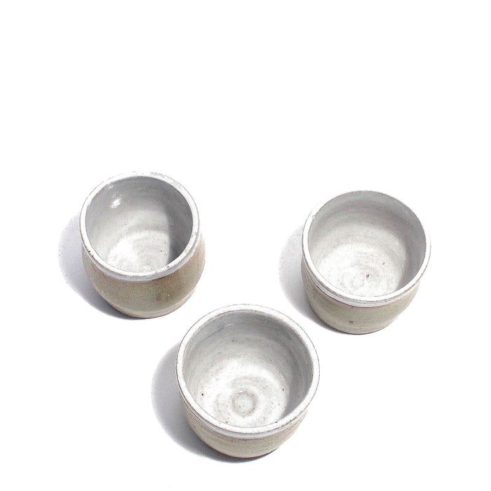 Set of 3 Ceramic Cups