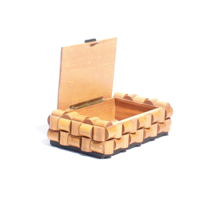 French Wooden Cigarette box