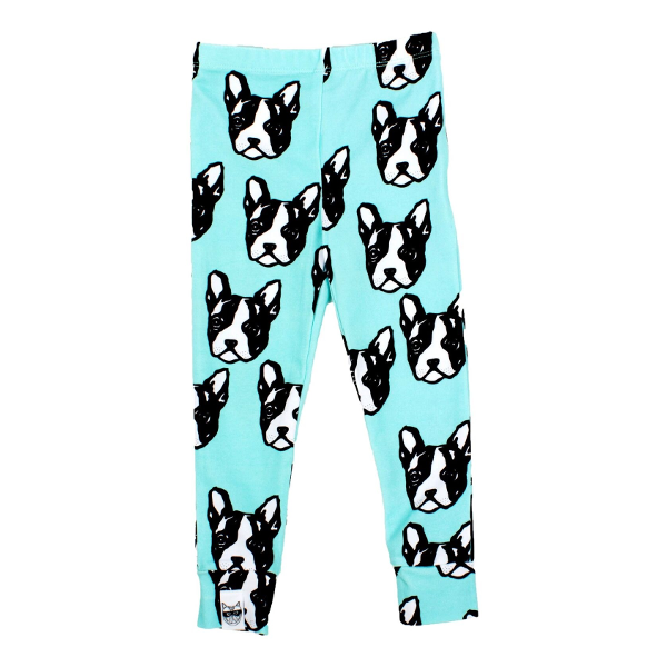 Organic Boston Terrier Leggings (12-18 months)