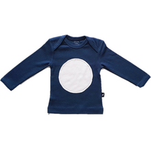 Circle Patch Long Sleeve - Navy