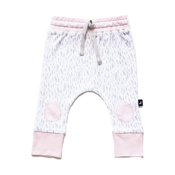 Patch Pants - Pink
