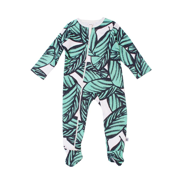 Jungle Fern Zip Up (newborn)