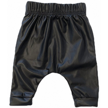 Leatherette Harem Shorts