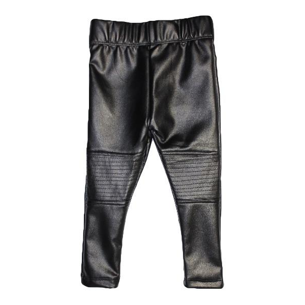 Lined Leather Leggings (6-12 months)