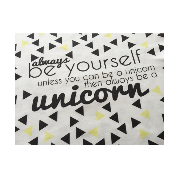 Always a Unicorn Lovie Blanket