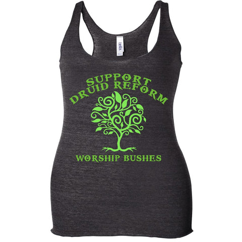 Support Druid Reform Racerback Tank