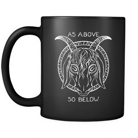 As Above So Below 11oz Mug