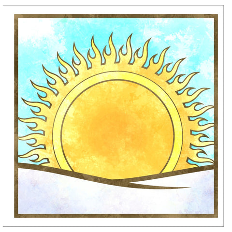 Winter Solstice Sunrise Greeting Card Pack