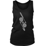 Scottish Pict Z - Rod Womens Tank  - size Small to 4XL