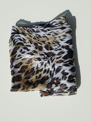 Headwrap Tiger Print