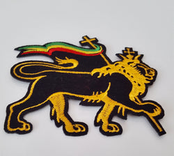 Rasta Lion of Judah Patch